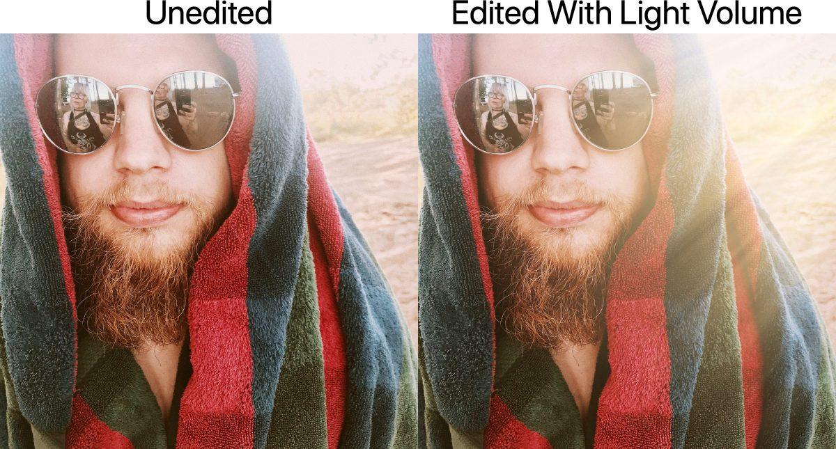 lens distortions light volume
