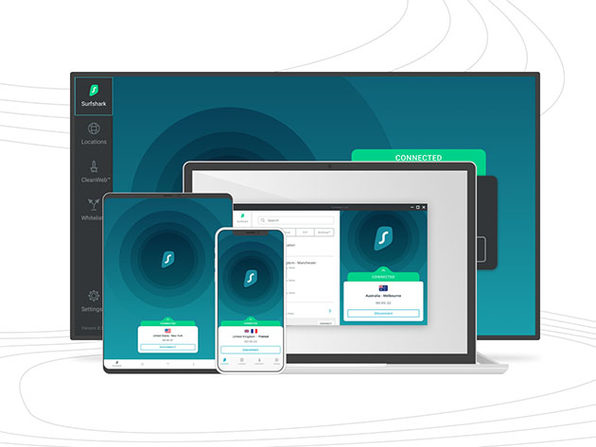 SurfShark VPN 2-Year Subscription: $69