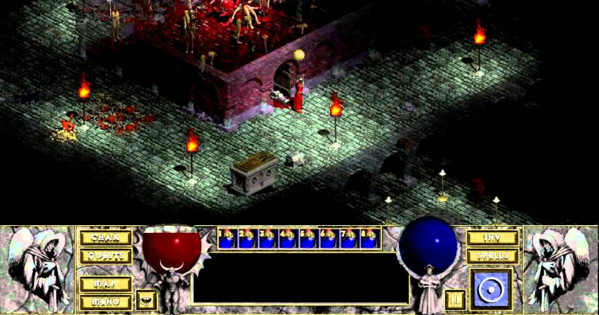 Play the Original Diablo in a Web Browser on Your iPad