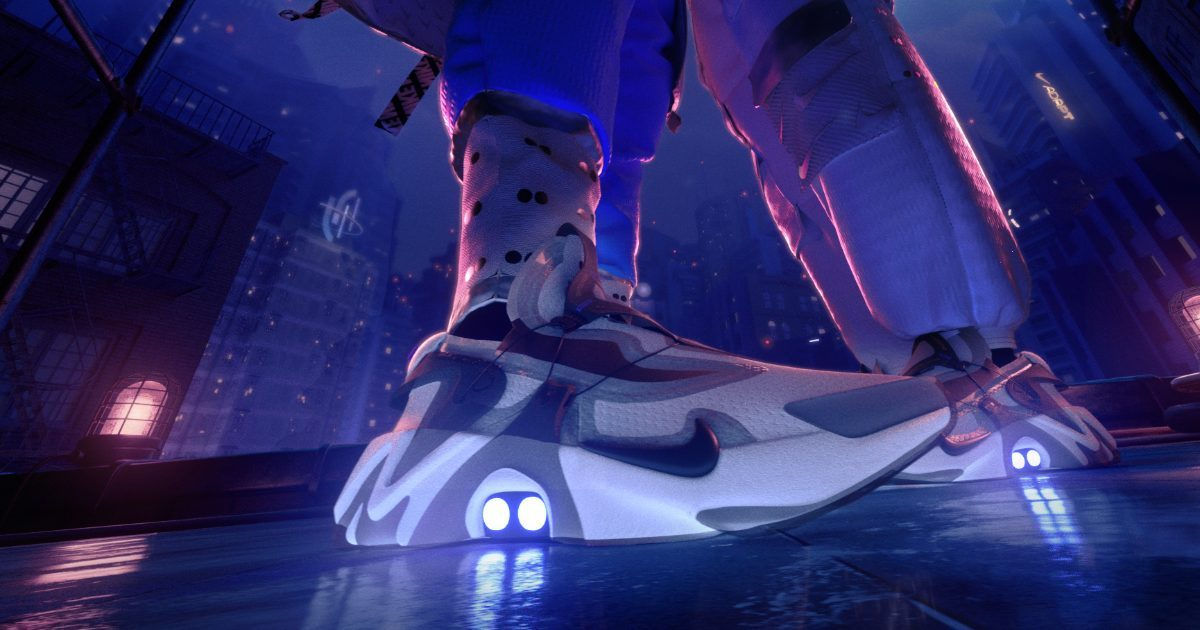 Nike Adds Self-Lacing Adapt Tech to Huarache Shoe