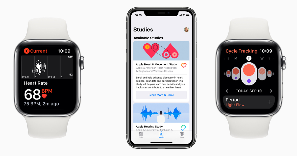Apple announces three new health research projects