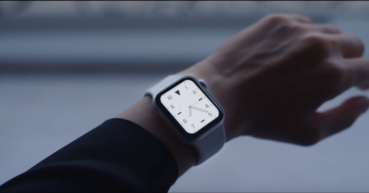 Apple Watch Series 5 video