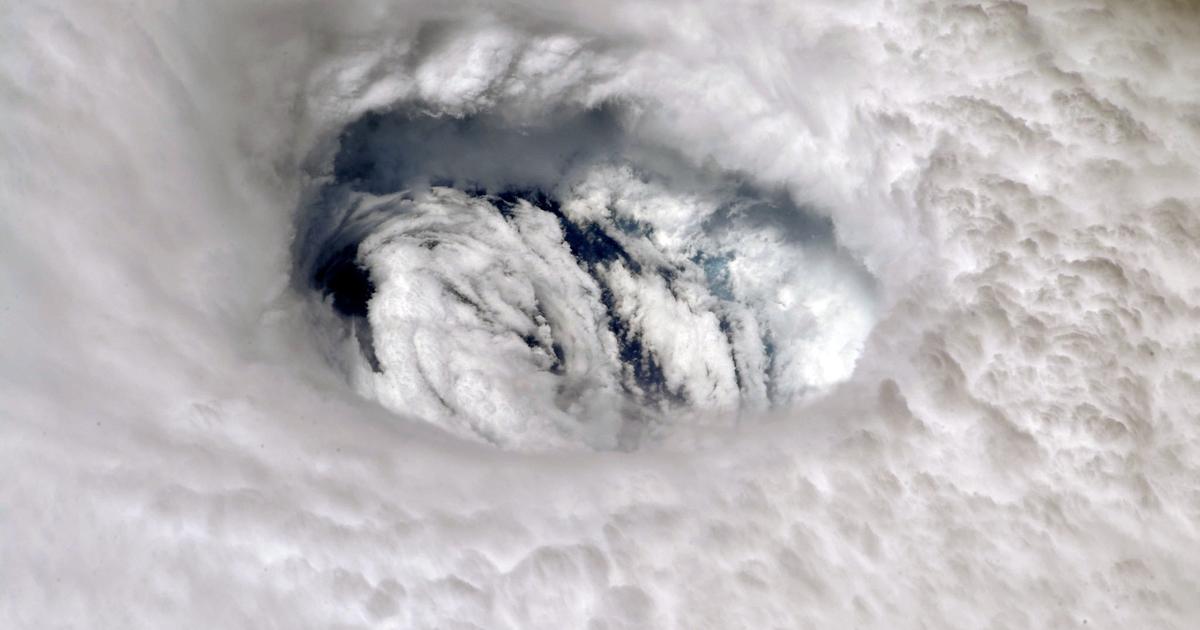 Astronaut Takes Breathtaking Photo of Hurricane Dorian