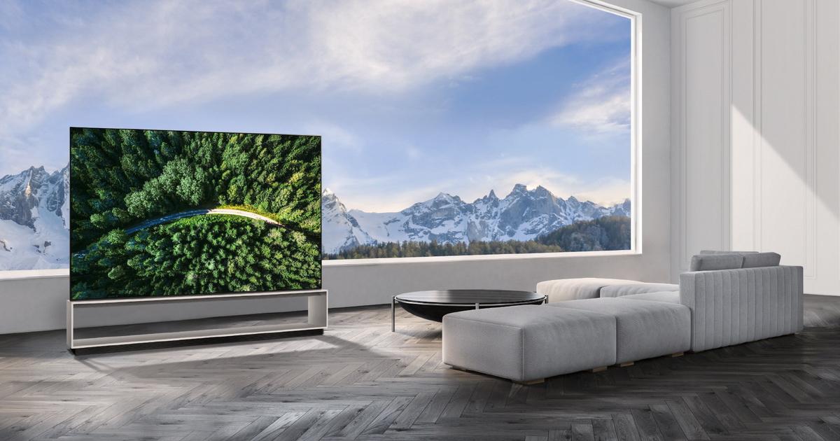 LG Signature 8K TV