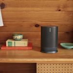 Sonos Move: Portable, Weatherproof, Water Resistant, Bluetooth, Wi-Fi, Voice-Assistant Speaker