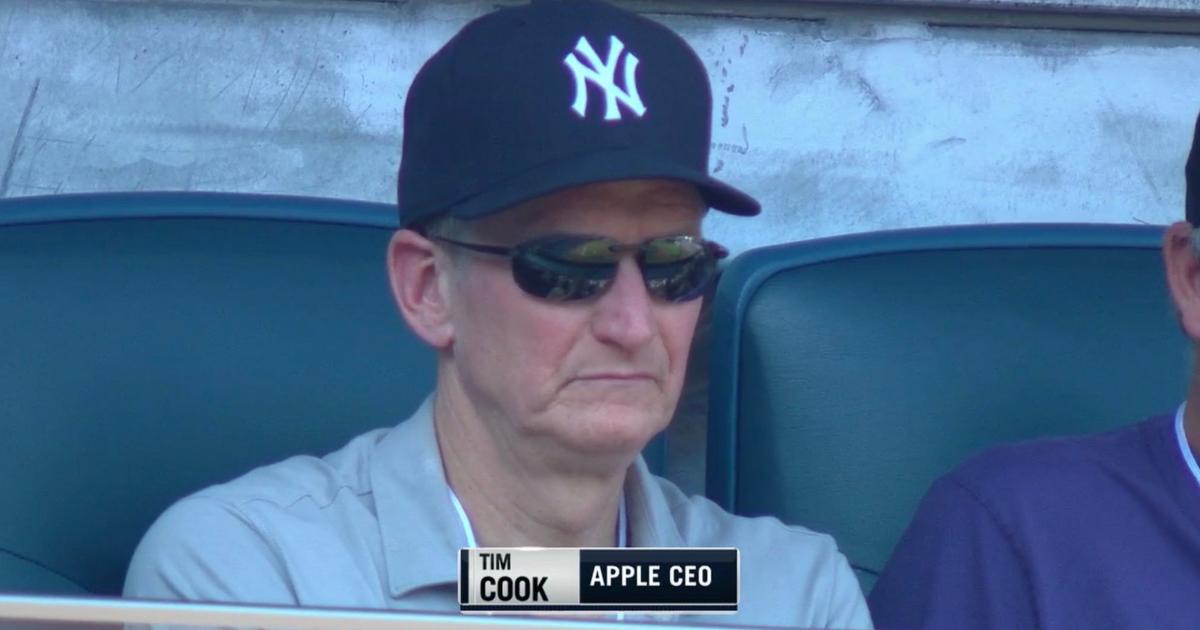 Tim Cook New York Yankees