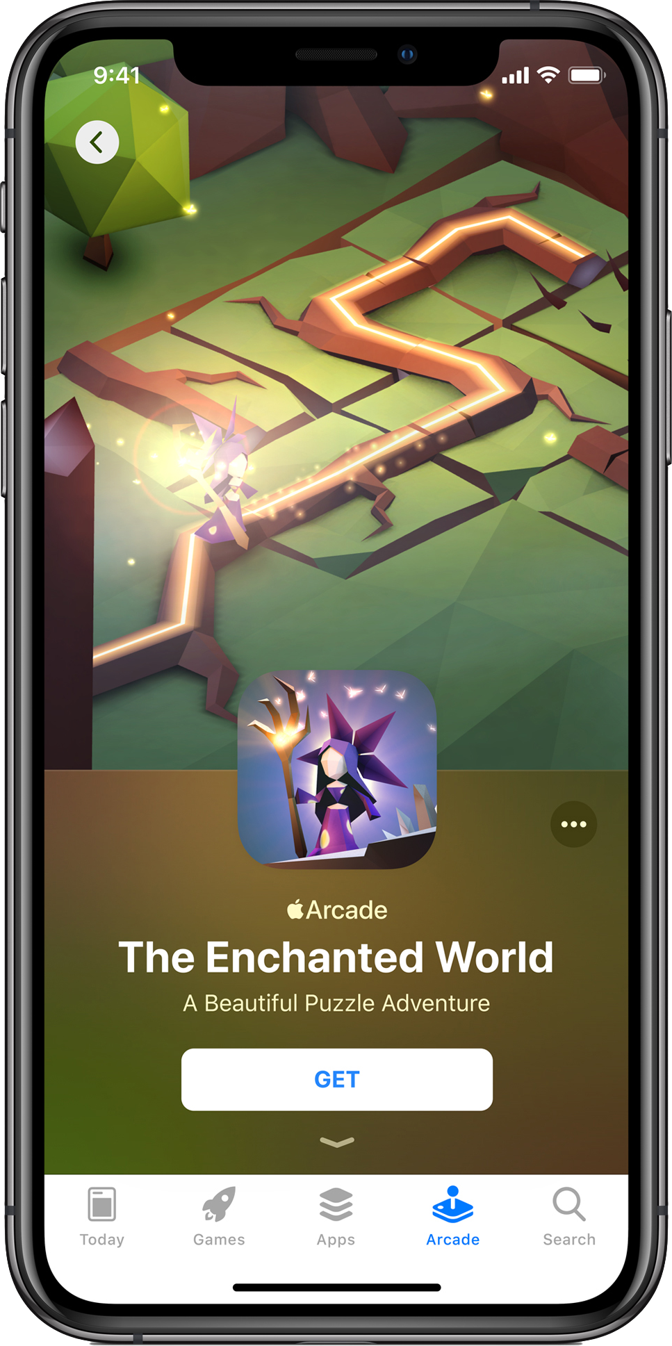 apple arcade enchanted forest preview