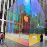 9 Images of Apple's Beautiful, Colorful New Fifth Ave Cube in NYC