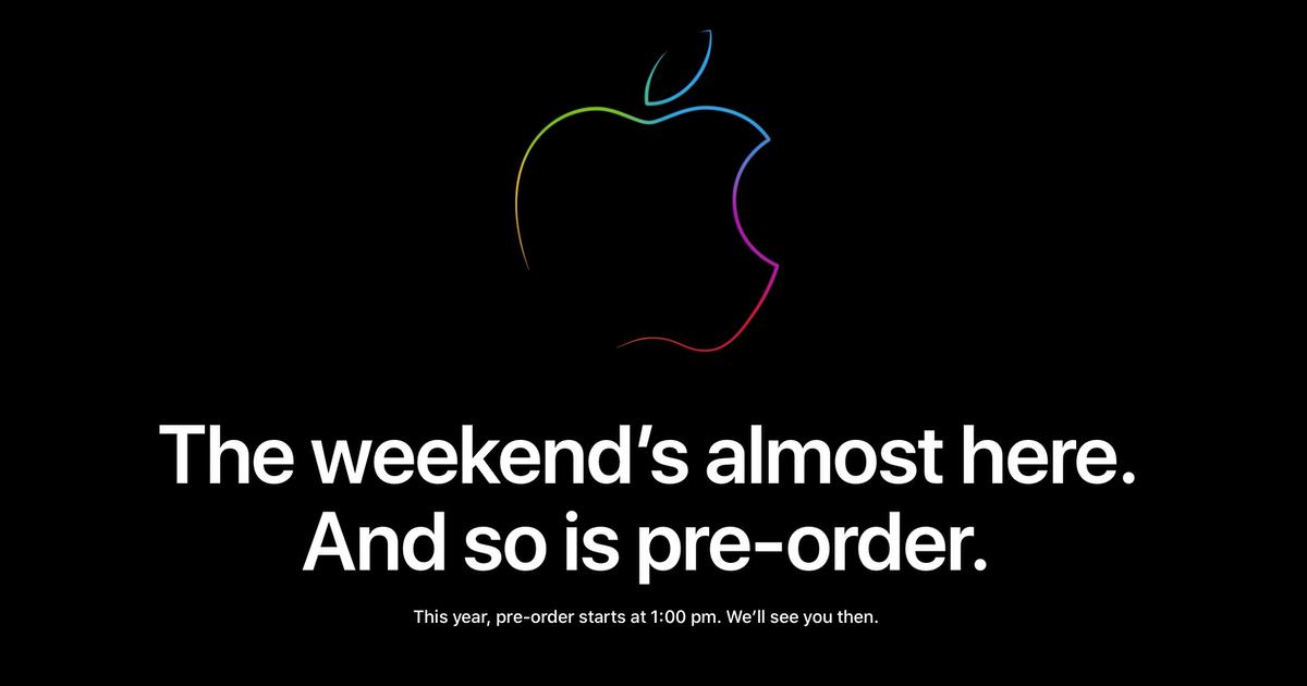 iPhone 11 preorder uk