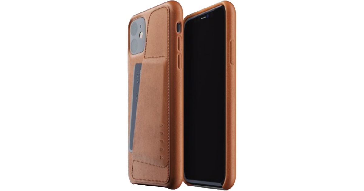 Mujjo iPhone 11 leather case.