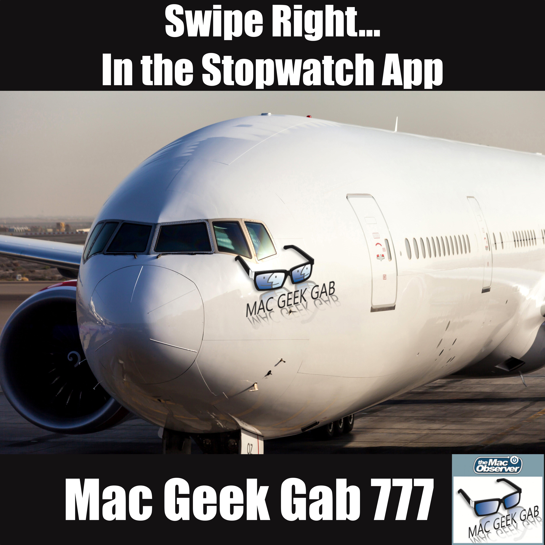 Swipe Right    In the Stopwatch App – Mac Geek Gab Podcast