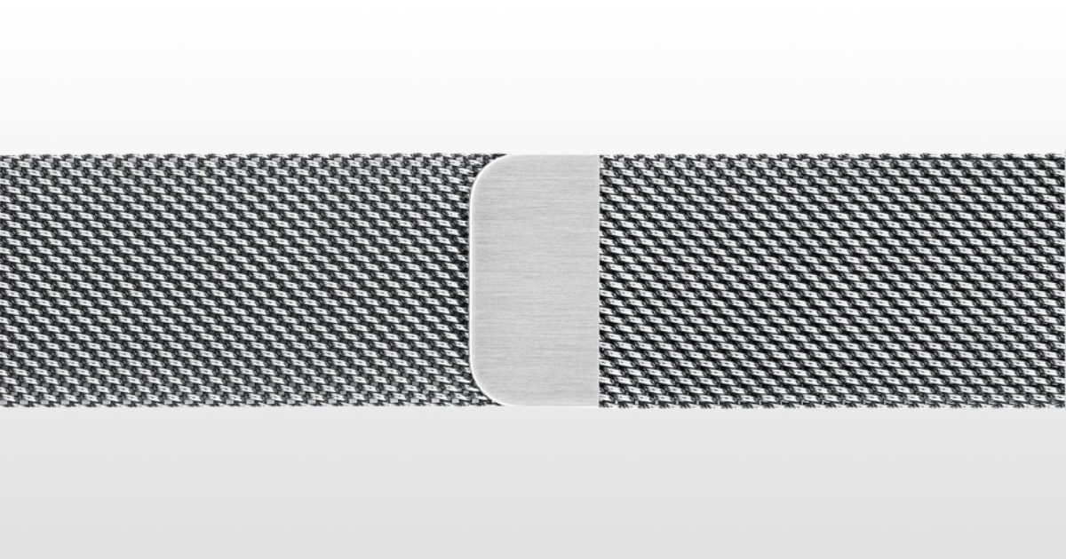 Apple Watch series 5 milanese loop
