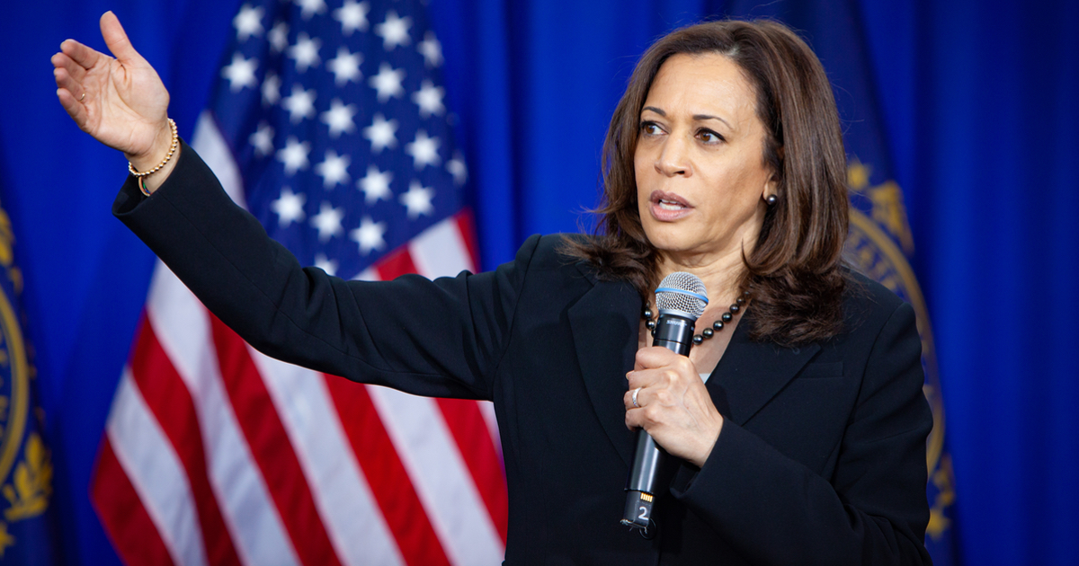 Kamala Harris Asks Jack Dorsey to Suspend Donald Trump's Twitter Account