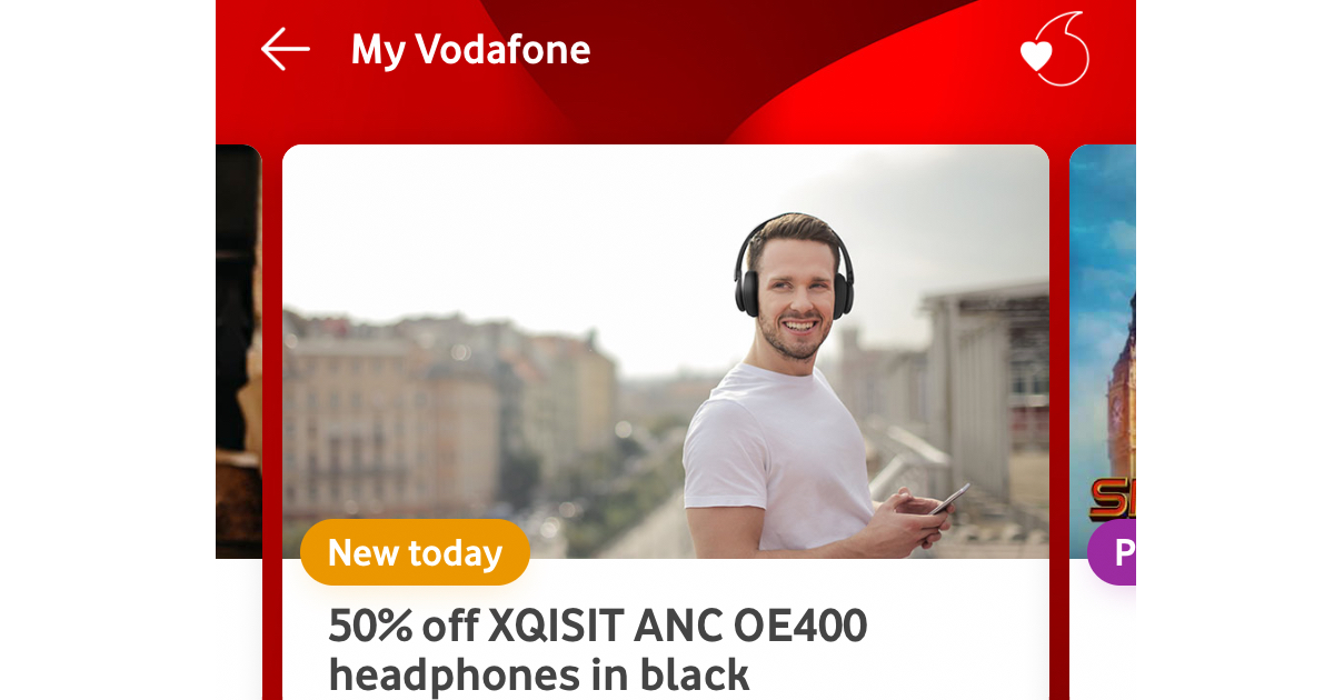 Get VeryMe Rewards Via My Vodafone App