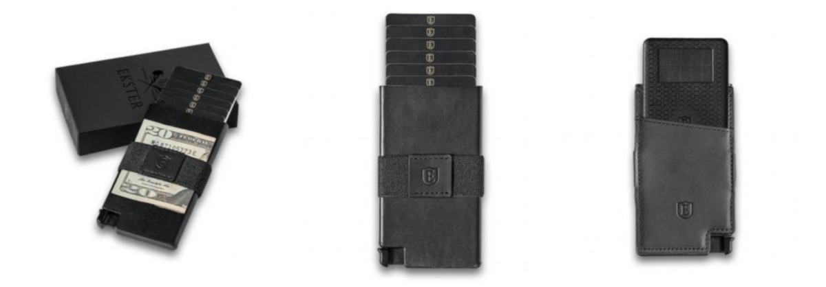 ekster smart wallet senate cardholder