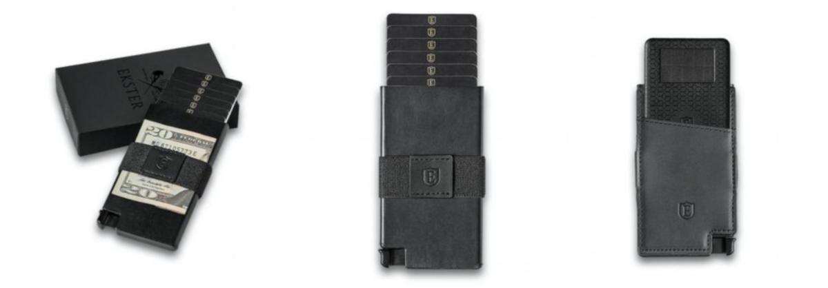 ekster smart wallet senate cardholder
