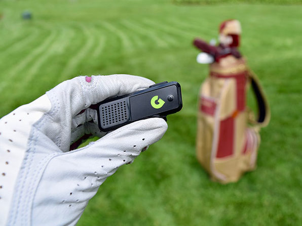 Line Up Your Shots with This Wearable, Compact Bluetooth Golf Rangefinder: $54.99