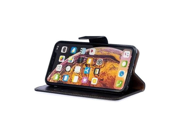iPM PU Leather Wallet Case for iPhone 11 with Kickstand: $12.99