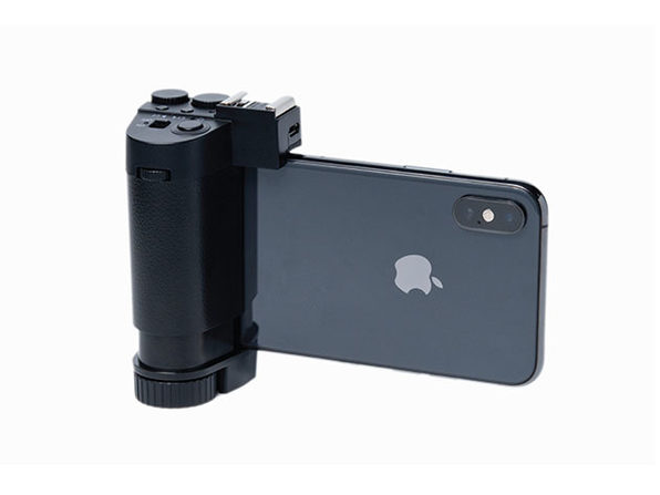 Camera Grip for iPhone with LED Light Bundle: $54.99