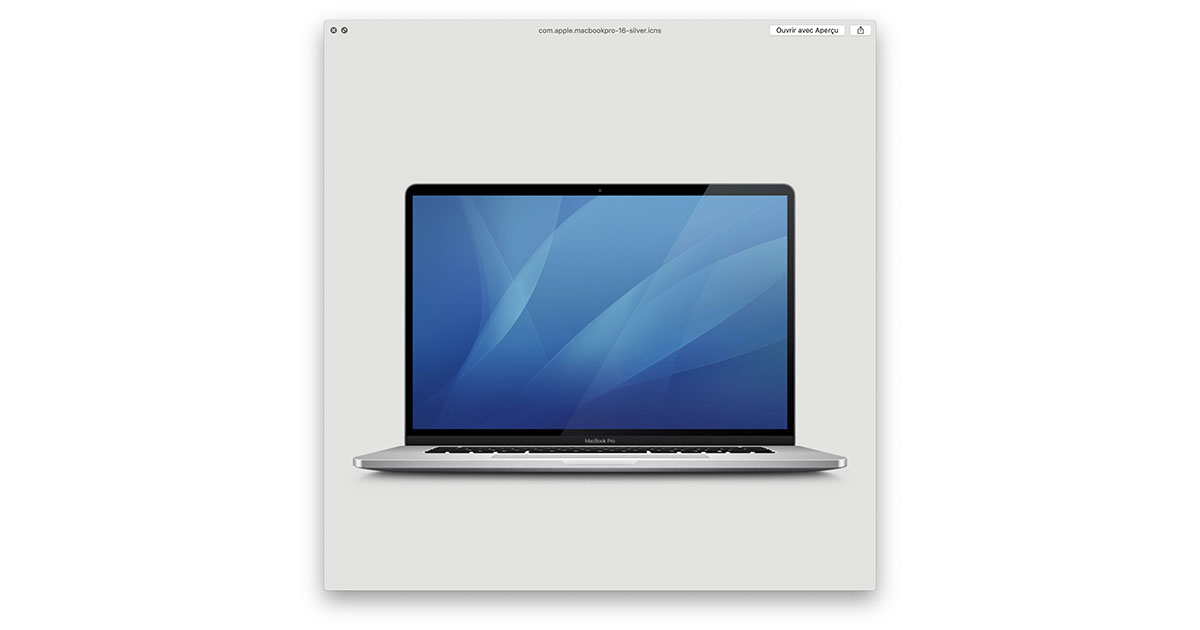 MacGeneration Finds Icon of 16-inch MacBook Pro in macOS 10.15.1 Beta
