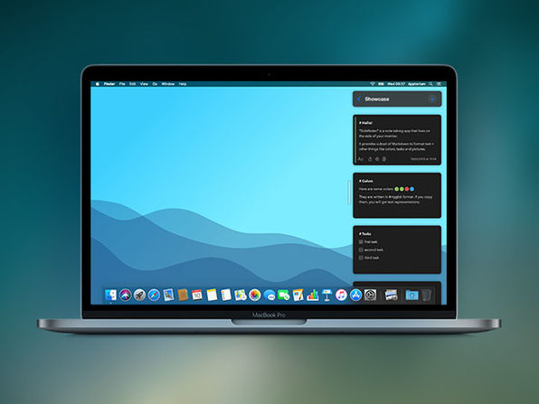 SideNotes for Mac: $7.99