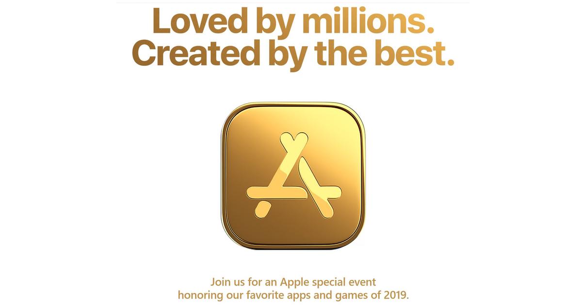 Apple app event invite