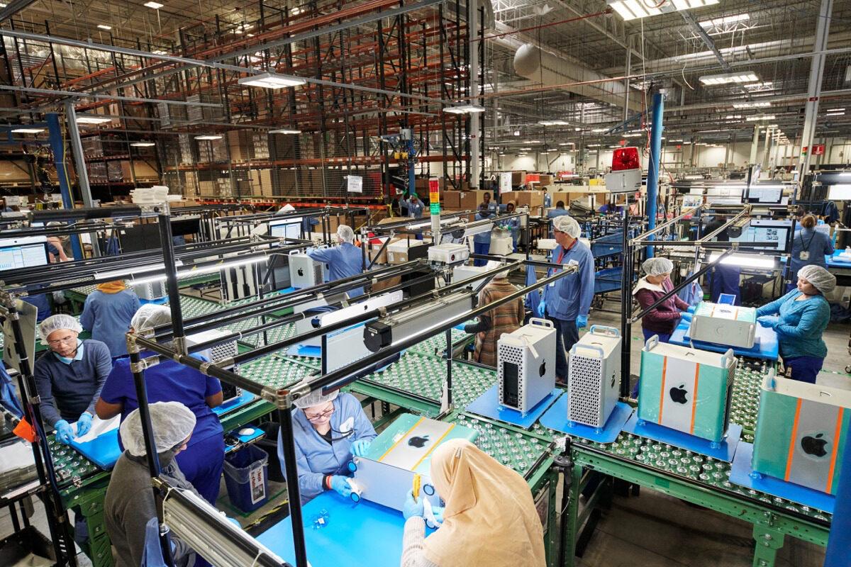 Austin, Texas Apple campus Manufacturing