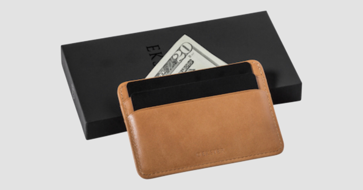 Black Friday 2019 guide. Ekster wallet