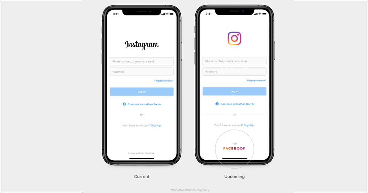 Facebook Updating Branding to Provide Clarity Across Instagram And Other Apps