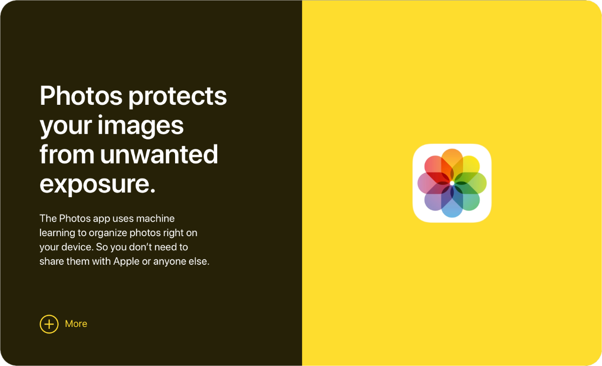 Apple's New Privacy Pages are way too simple to understand