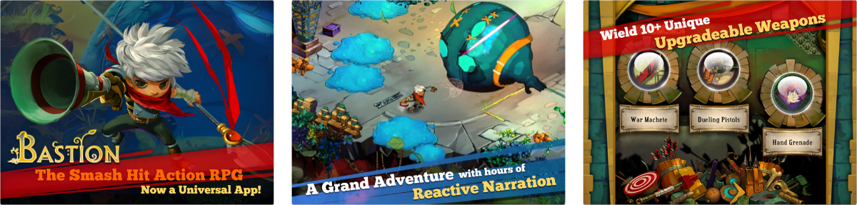 Explore the Calamity in Action RPG Bastion-Now Free