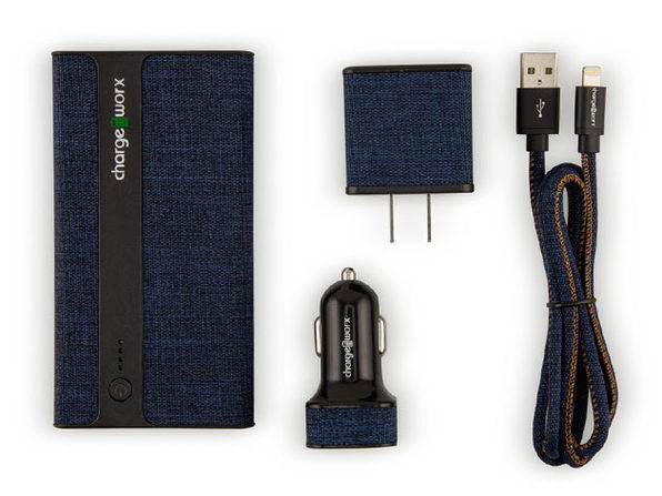 MFi Certified Sleek Canvas Complete Charging Collection: $25.49