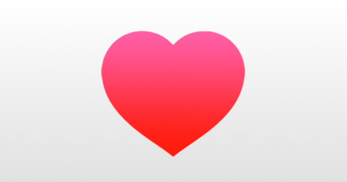 Apple health icon