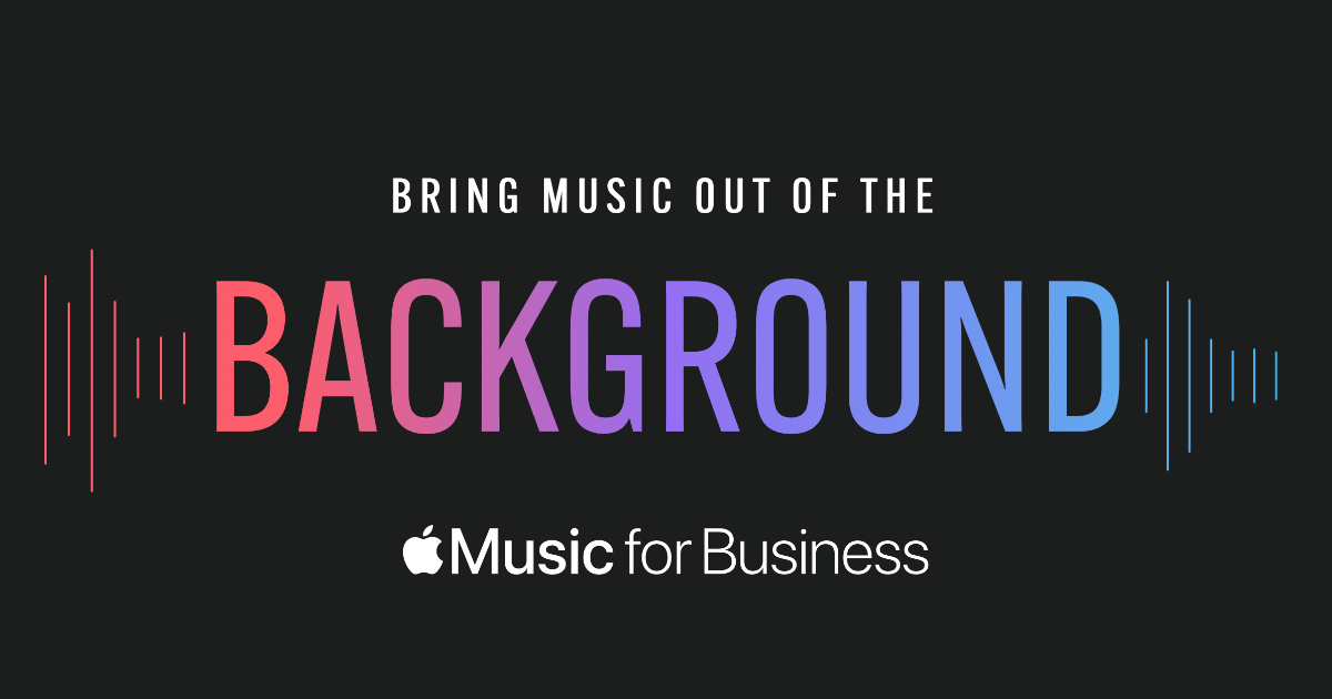 Apple Music Gets Into the Muzak Business