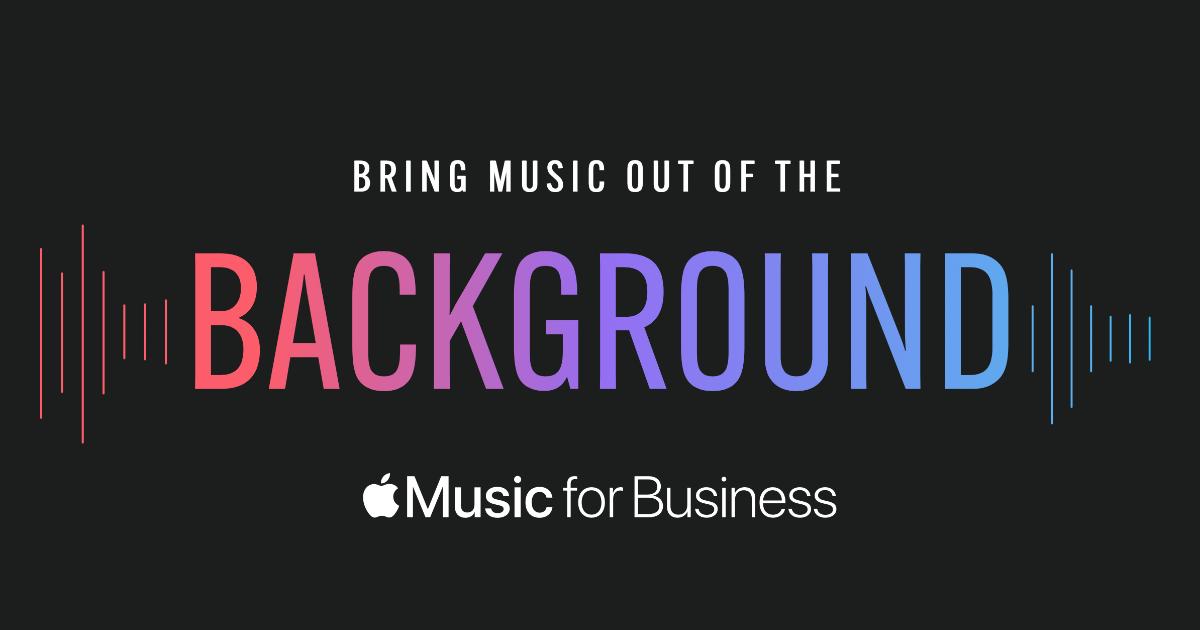 Apple Muzak Apple Music for business