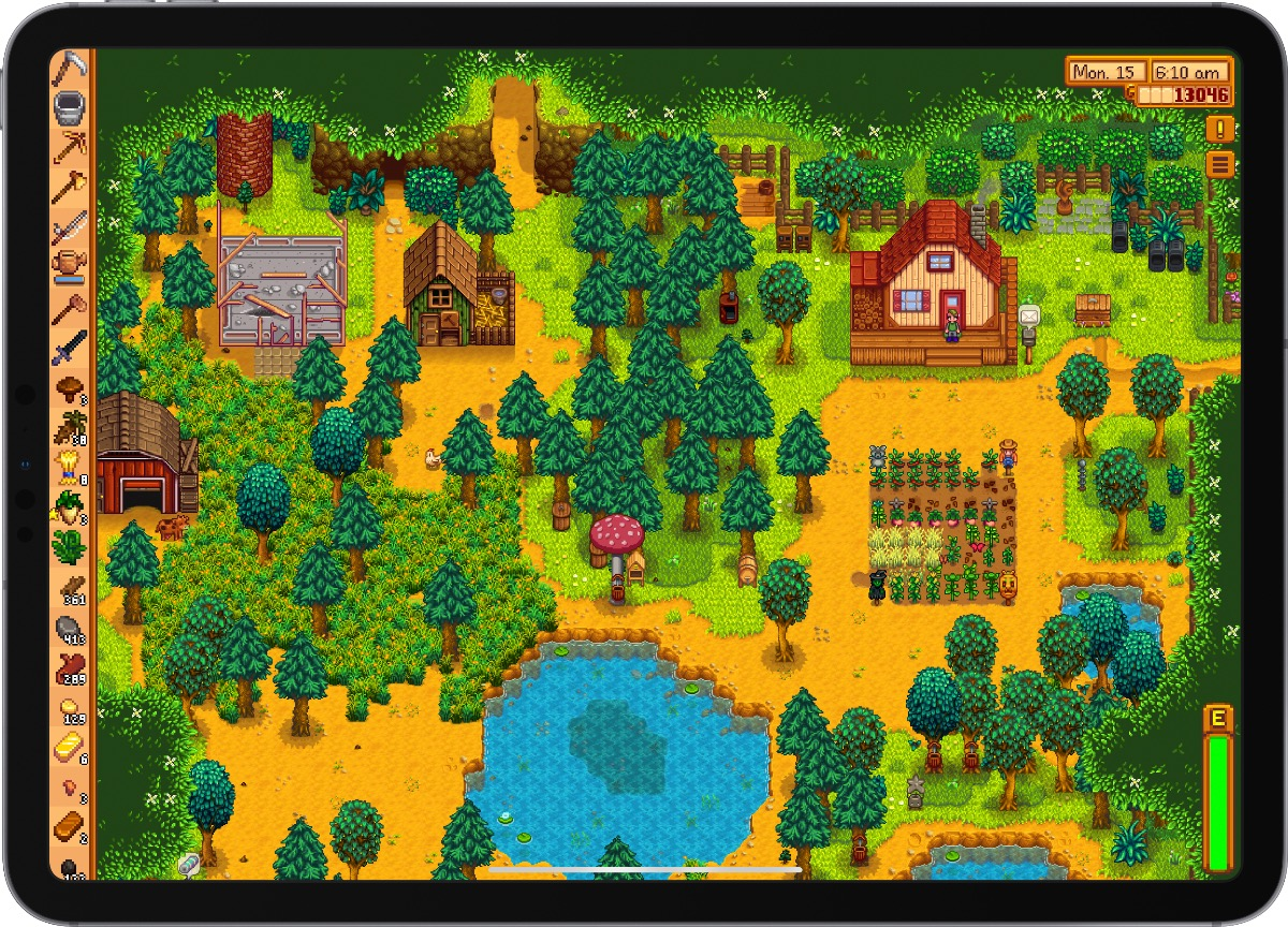 Stardew valley screenshot on iPad
