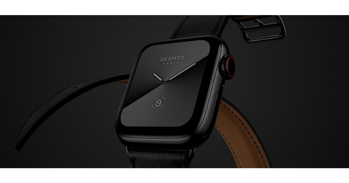 Space Black Hermes Apple Watch Series 5 No Longer Available