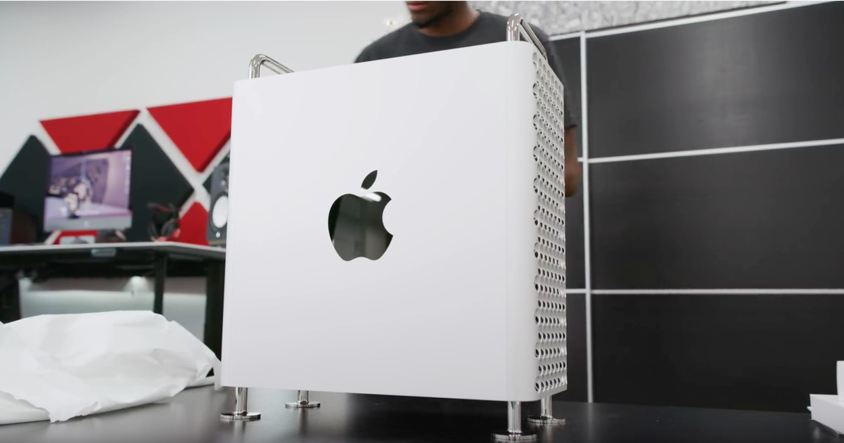 Marques Brownlee Mac Pro