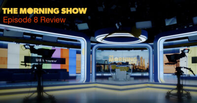 Morning Show review graphic ep 8