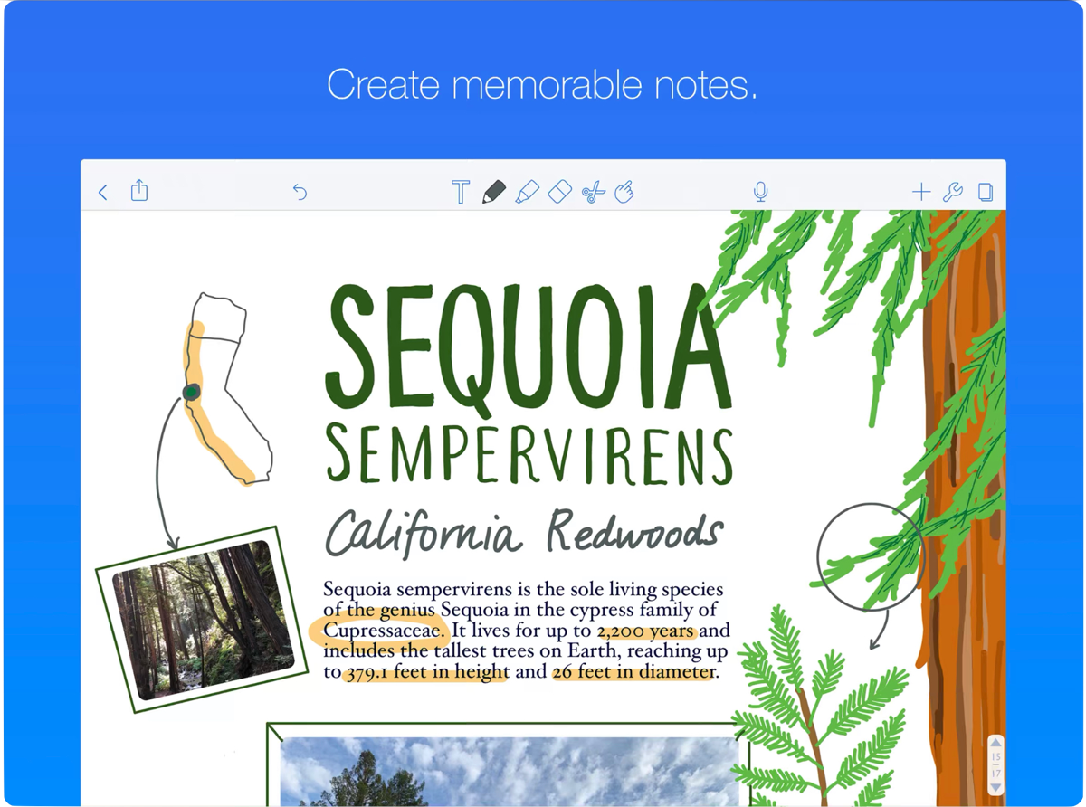Notability 9.2 Changes the Highlighter and Supports the Files App