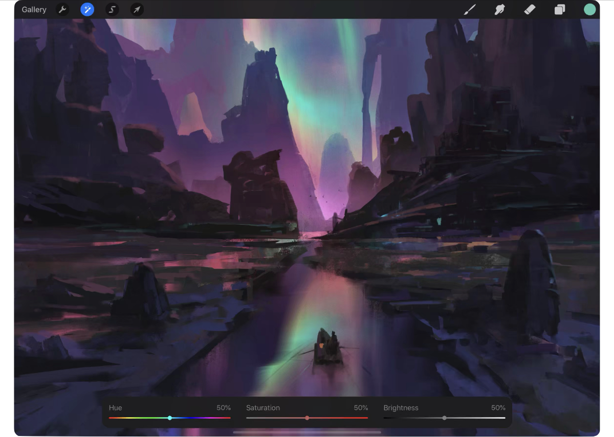 Massive Procreate 5 Update Brings a Ton of Features