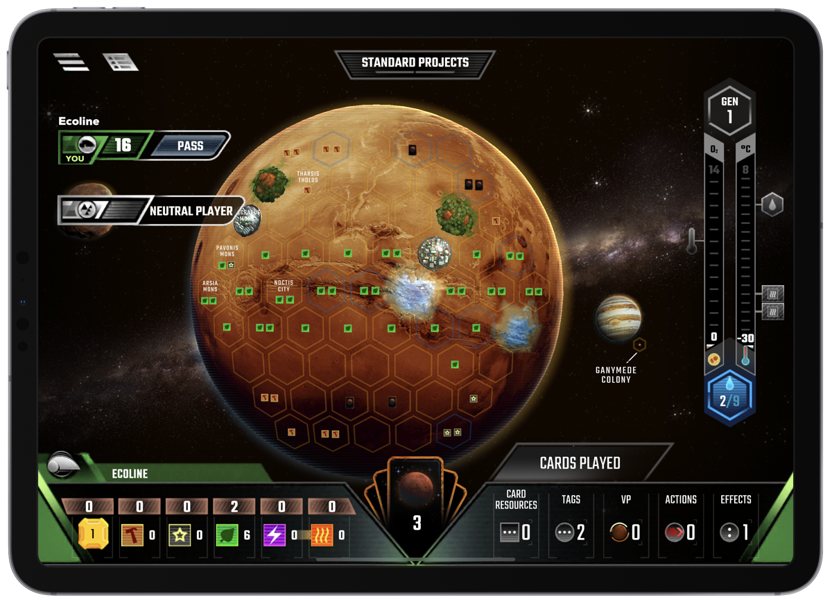 Steam Game Terraforming Mars Heads to iOS