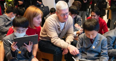 Tim Cook coding