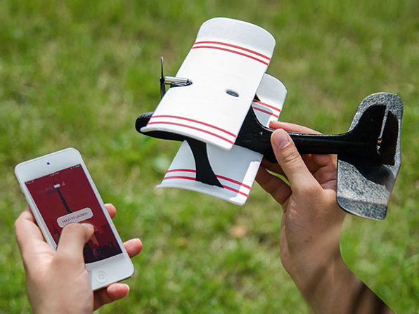 Moskito Smartphone-Controlled Plane with Joystick (Pre-Order): $42.99