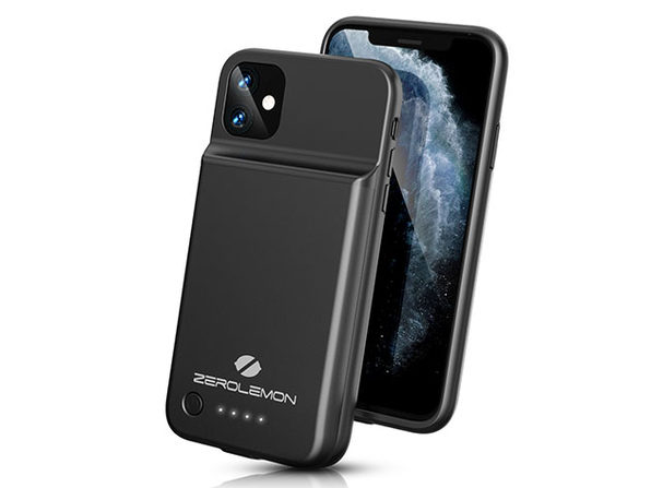 SlimJuicer 4,500mAh Wireless Charging Case for iPhone 11/Pro/Max: $21.25