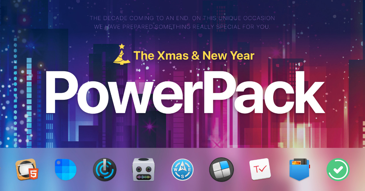 Unclutter's App PowerPack Bundles Apps for the Holidays