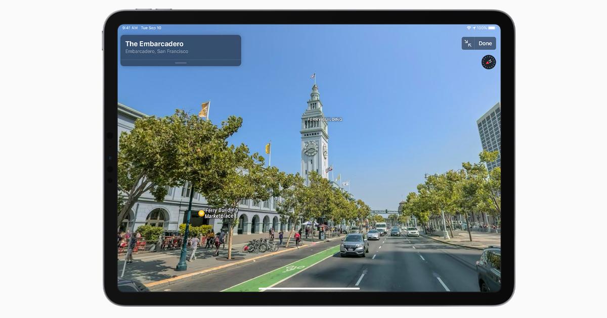 Image of Apple Maps look around