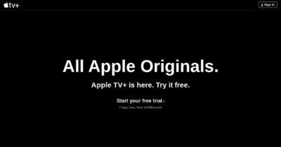 Apple TV+ free trial