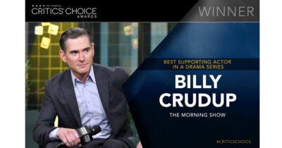 Billy Crudup Critics Choice