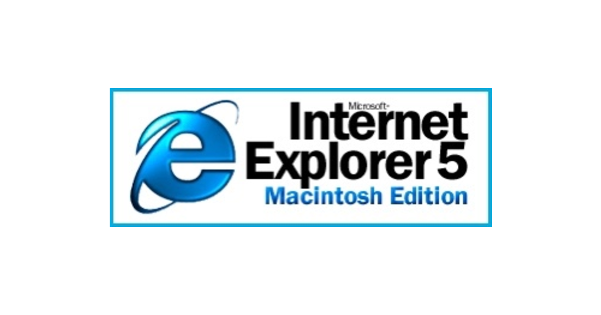 The 20th Anniversary of Internet Explorer 5 For Mac, And The Difficulty of Dealing With Steve Jobs